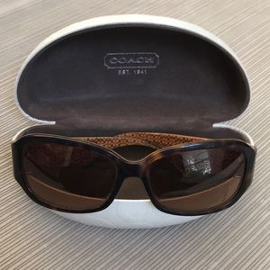 Coach Tortoise Whitney Sunglasses